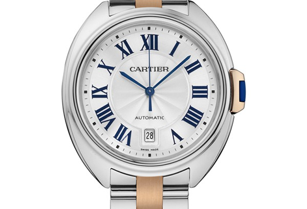 Cle de Cartier replica watches Series NEW K gold and stainless watch