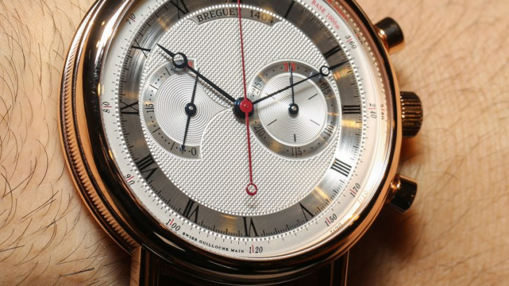 Breguet Classique Chronograph 5287 Watch is not thick