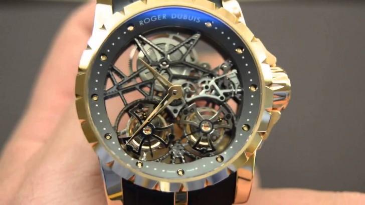 Roger Dubuis Excalibur Flying Tourbillon Replica Watch