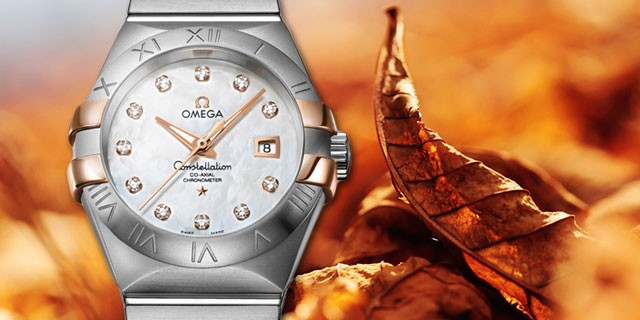 Omega Seamaster Bond Replica watches Constellation color