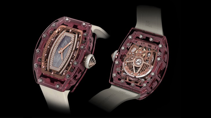 Breitling Intelligent Replica Watches RM 07–02 Pink Lover Sapphire