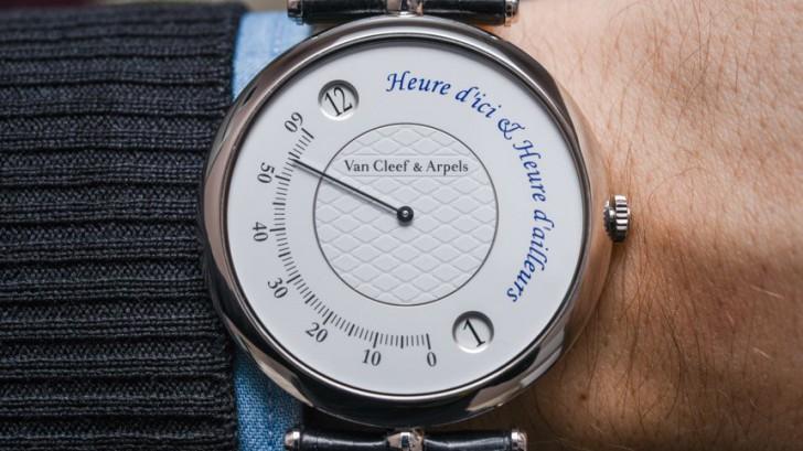 Van Cleef & Arpels Heure d'Ici & Heure d'Ailleurs Replica Men's Watch Review