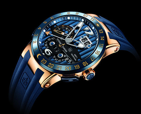 Testing The Ulysse Nardin Blue Toro Replica Watch