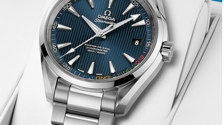 Omega Seamaster Aqua Terra 'PyeongChang 2018' Limited Edition Replica Watch For 2018 Olympics Releases