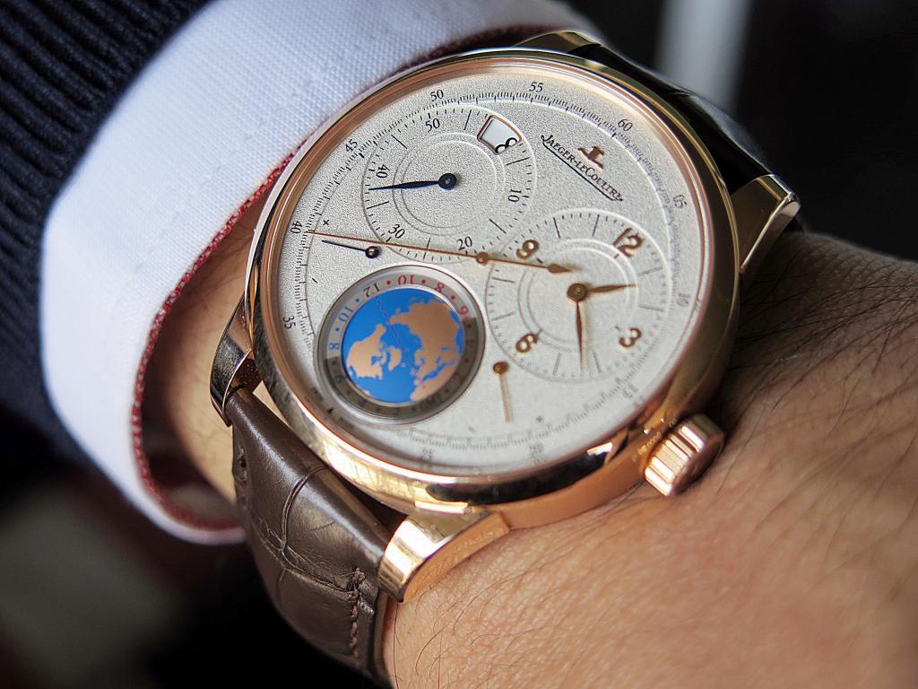 Jaeger-LeCoultre Duometre Unique Travel Time Replica Watch For Sale