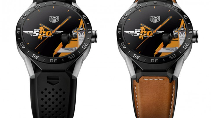 Take A Look At The Technical And Sporty TAG Heuer Connected Watch Indy 500 Replica Watch