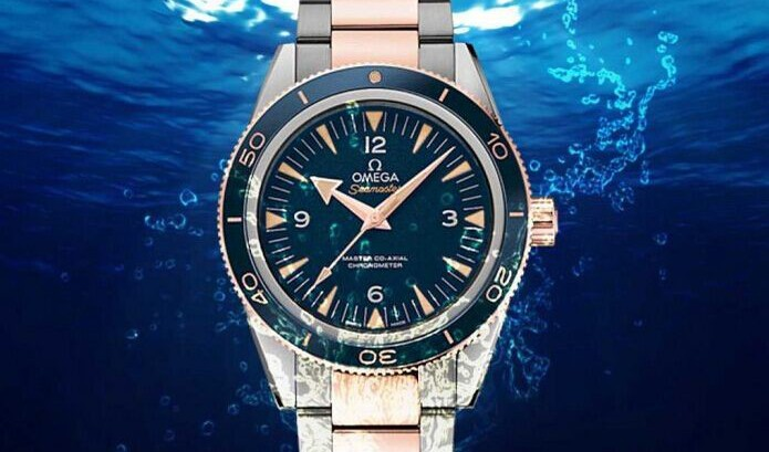 The Omega Seamaster Replica 300 Watch With Blue Dial 41mm Diver Replica