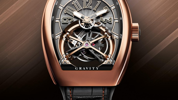 Take A Look At The Sporty, Masculine Franck Muller Vanguard Gravity Replica Watch