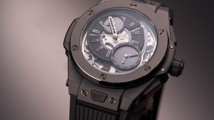 Detailed Review With The All Black Hublot Big Bang Alarm Repeater Replica Watch