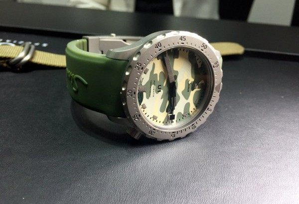 Reviewing The Super Diving Sinn U1 Camouflage Replica Watch