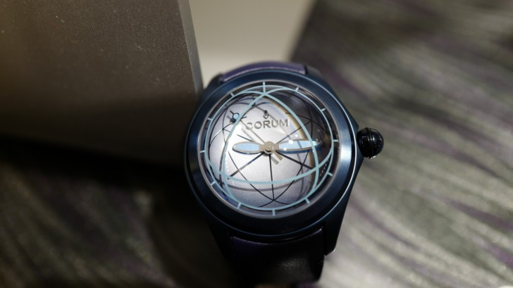 Take A Look At The Corum Heritage Bubble Sphere2 Stainless Steel/Blue Replica