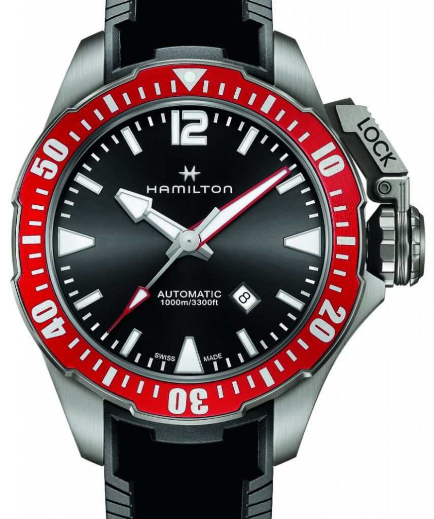 Show You The Hamilton Khaki Navy Frogman Mens Replica