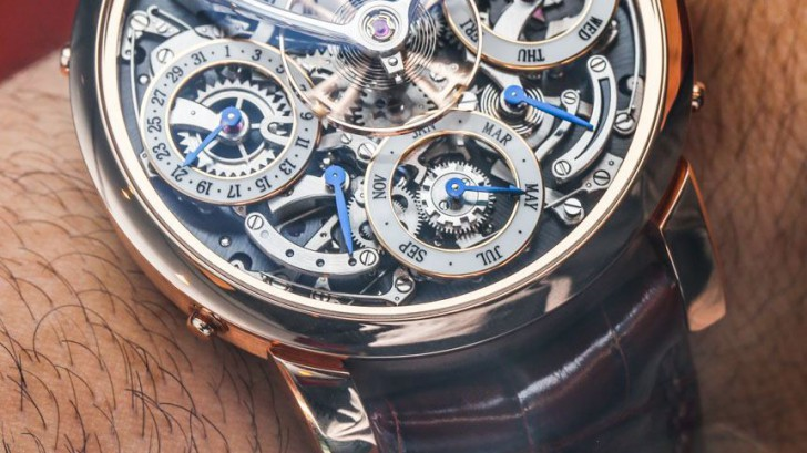 Hands-on With MB&F Legacy Machine Perpetual Calendar Mens Replica