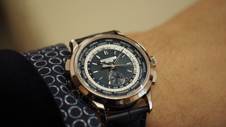Patek Philippe World Time Chronograph ref. 5930G-001 With 40mm CaseReplica Watch