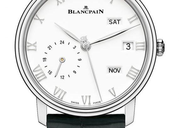 A Elegant Timepiece Of Blancpain Villeret Quantième Annuel GMT Replica