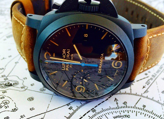Introducing The Panerai Luminor 1950 Chrono Flyback Ceramica Replica