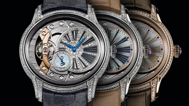 A Charming Watch On Ladies Wrist:Audemars Piguet Millenary Diamonds Replica