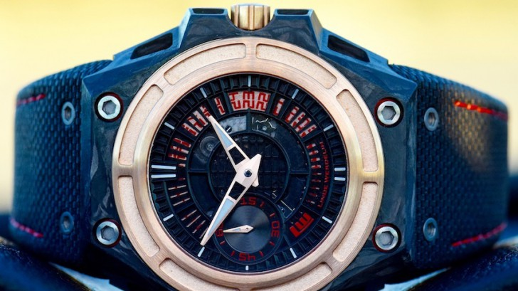 Linde Werdelin SpidoLite Tech Gold Men's Replica Watch On Discount