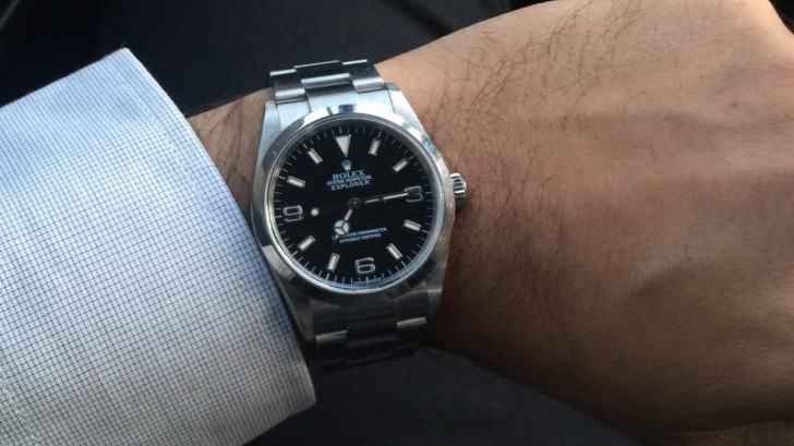 On The Wrist:Rolex Oyster Perpetual Explorer With 39mm Case Men's Replica