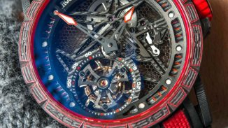 Detailed Review With The Roger Dubuis Excalibur Carbon Spider Men's Replica