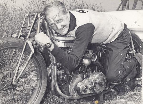 Tribute to Burt Munro, the motorcycle racing legend
