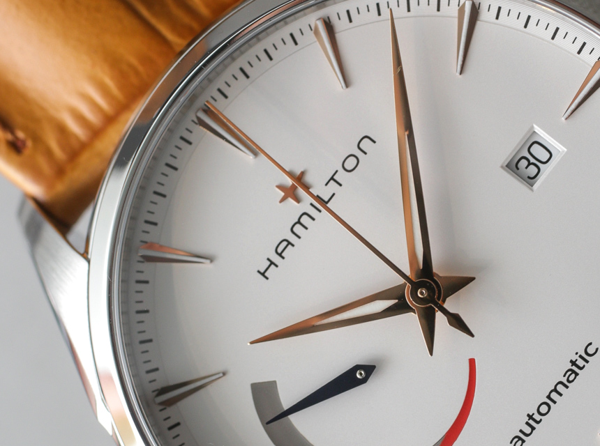 Hamilton Jazzmaster Power Reserve Watch Hands-On Hands-On