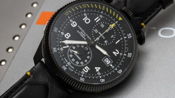 Hamilton Khaki Takeoff Limited Edition Watch Hands-On Hands-On