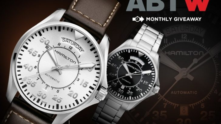 LAST CHANCE: Blancpain watches of switzerland Replica Khaki Pilot Day Date Watch Giveaway Giveaways