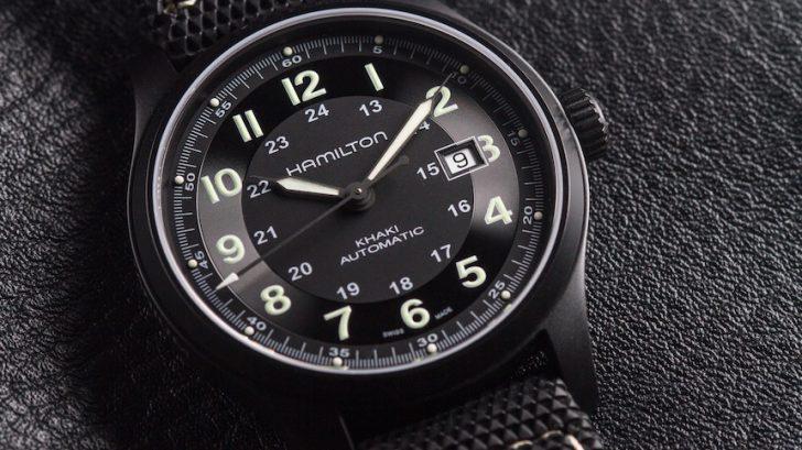 Hamilton Khaki Field Titanium Auto Review Wrist Time Reviews