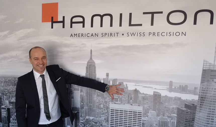 Hamilton Watches CEO Sylvain Dolla Interview ABTW Interviews