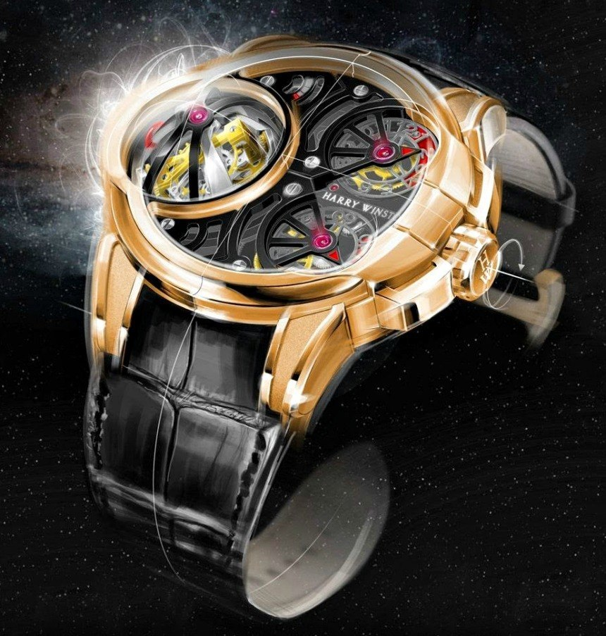 Harry Winston Histoire de Tourbillon 5 Watch Watch Releases
