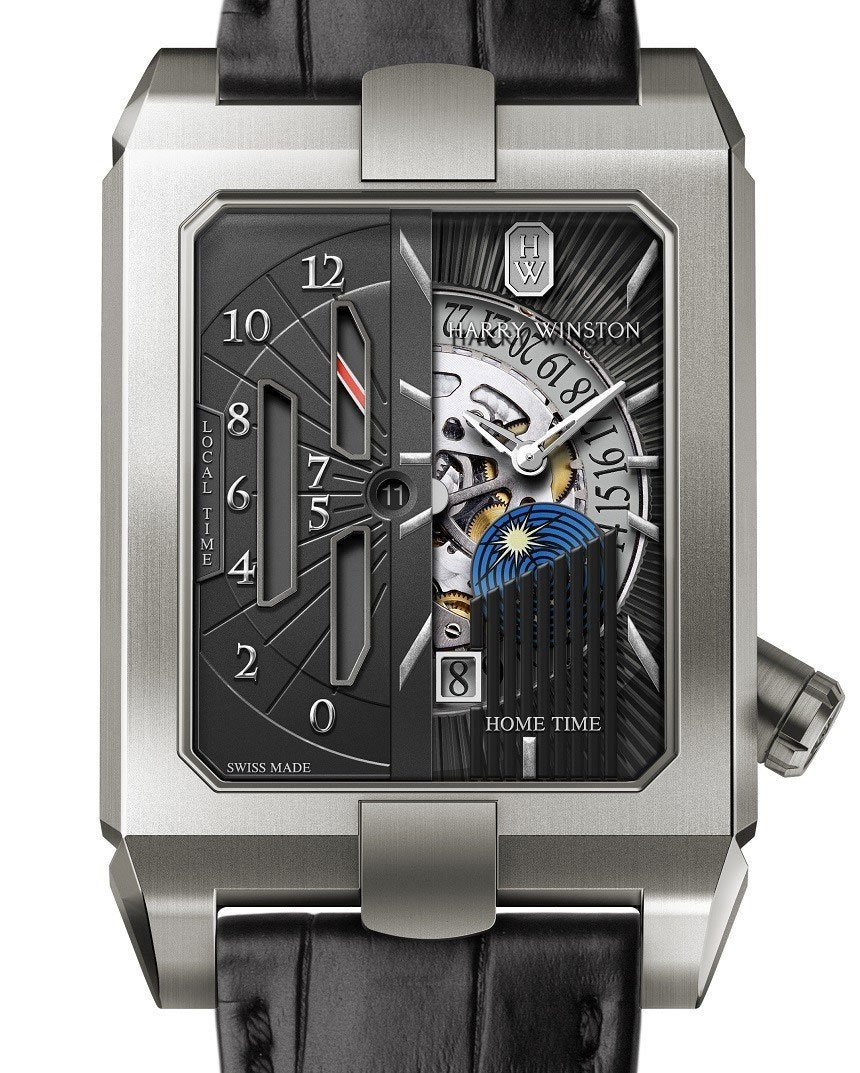 Harry Winston Avenue Dual Time Automatic Watch Watch Releases