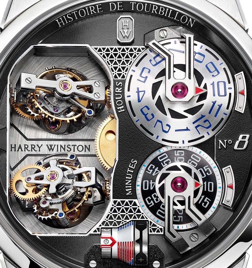 Harry Winston Histoire De Tourbillon 8 Watch Watch Releases