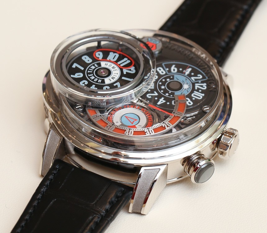 Harry Winston Opus 14 'Jukebox' Watch Hands-On Hands-On