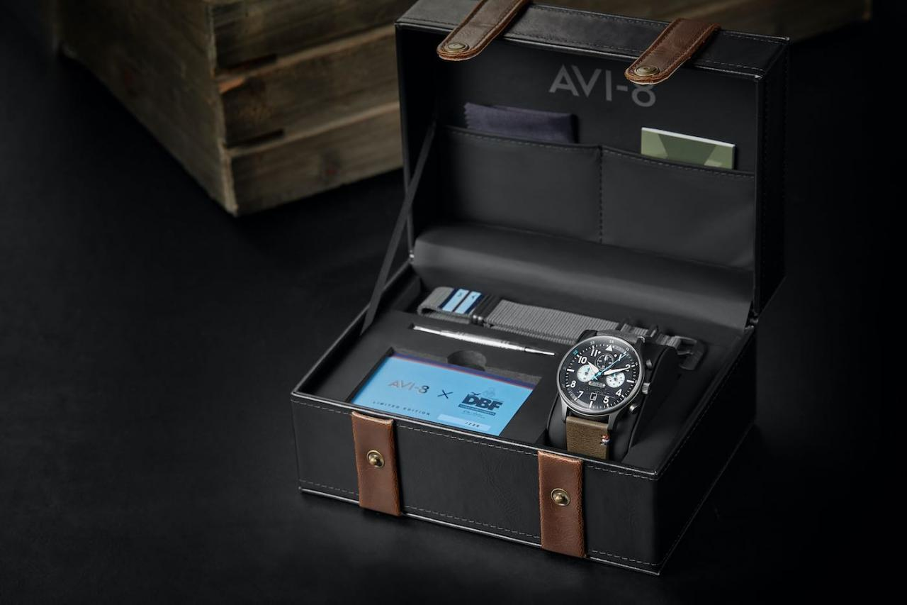 AVI-8 Bader Chronograph Limited-Edition Fake Watch Watch Releases