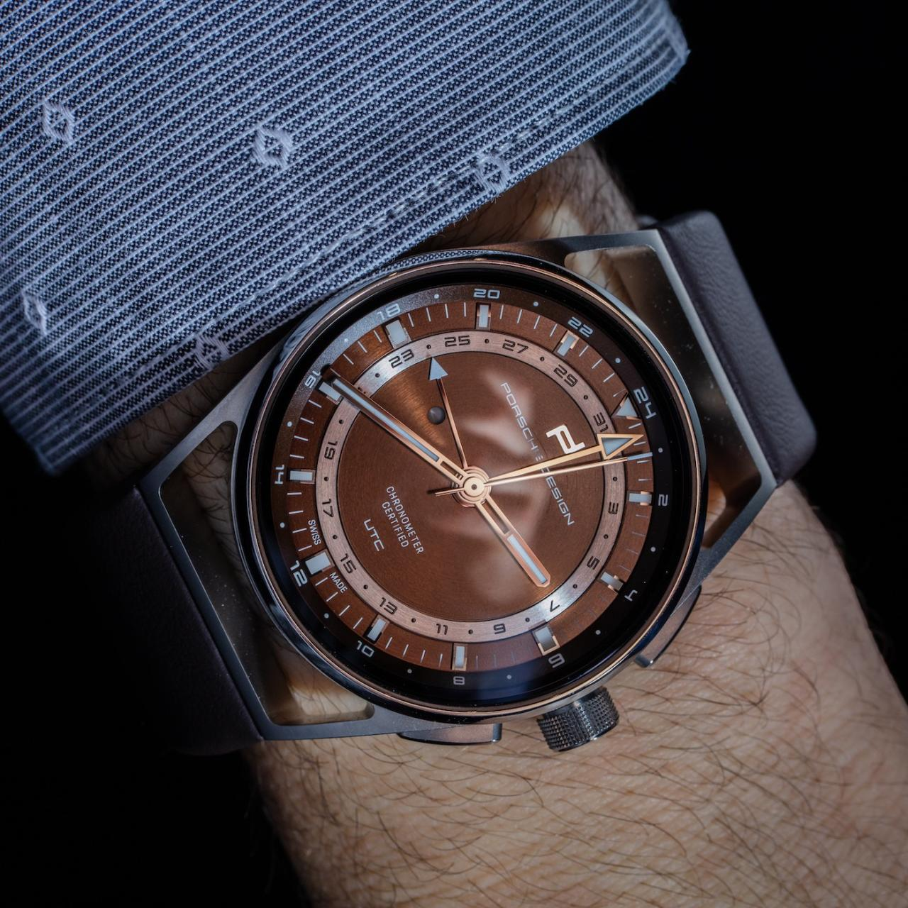 Porsche Design 1919 Globetimer UTC Replica Watches